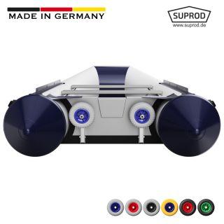 Transporthjul, Dinghy hjul, til gummibåd, SUPROD HD200, Rustfrit stål A4