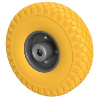 PU Wheel Ø 260 mm 3.00-4 Ball Bearing, PUNCTURE PROOF