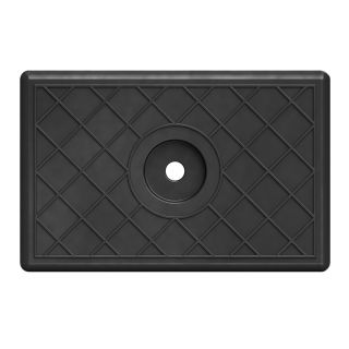Rubber Pad for Boat Trailer, SUPROD, 100 mm, black