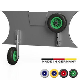 Transporthjul, Dinghy hjul, til gummibåt, SUPROD MD200, Rustfritt stål A4