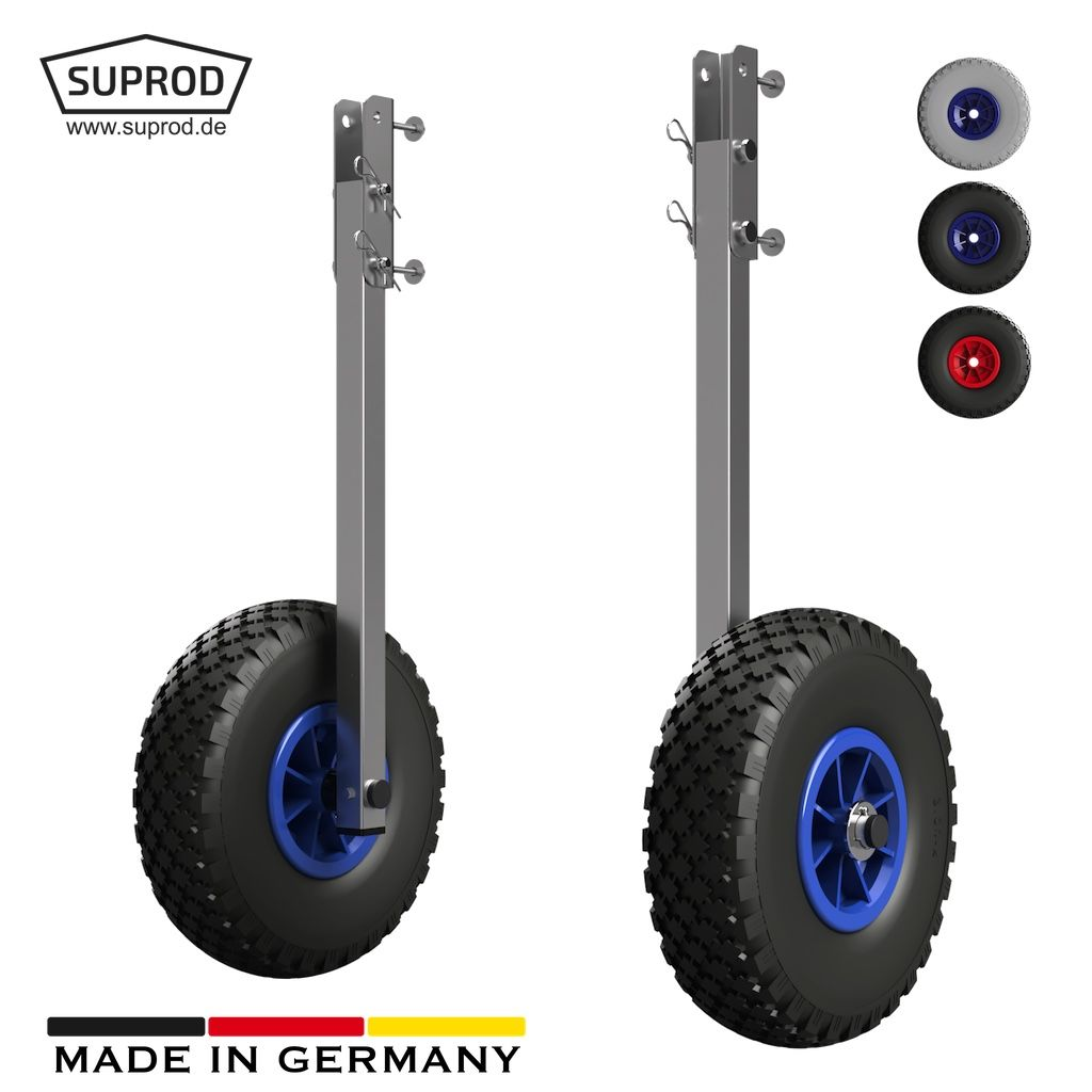 Launching Wheels Suprod Et260 Stainless Steel Puncture