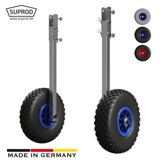 Launching Wheels, with folding function, SUPROD ET260, stainless steel