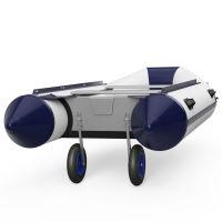 Strandwielen, Bijboot wielen, Rubberboot wielen, SUPROD ET350, Roestvrij staal