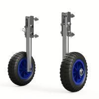 Coppia ruote di poppa, per derive, alaggio, SUPROD LD160, Acciaio inossidabile