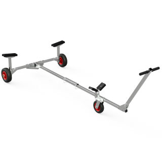Foldable Launching Trolley, for small Boats, Dinghies, SUPROD TR200