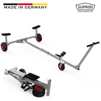 Foldable Launching Trolley, for small Boats, Dinghies,...