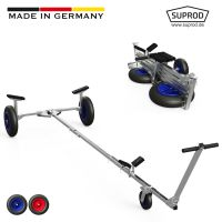 Foldable Launching Trolley, Dinghy Trolley, Hand Trailer,...