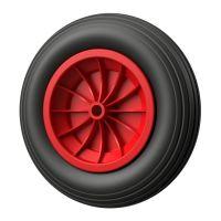 1 x Polyurethane Wheel Ø 350 mm 3.50-8 plain...