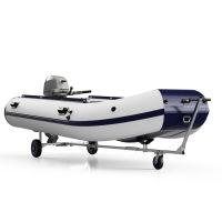 Strandtrailer, Rubberboot Trailer, Trolley, voor motor-, rubber-, roei- en kleine zeilboten, SUPROD TR260