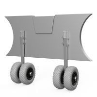 Launching Wheels, Dinghy Wheels, SUPROD EW200, Stainless...