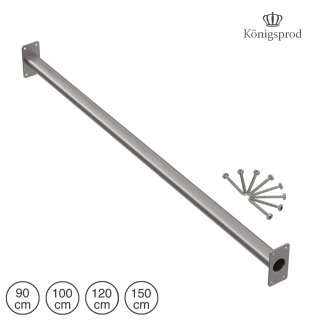 Pull-up Bar, Chinning Bar, Horizontal Bar, KÖNIGSPROD, stainless steel, 90 - 150 cm