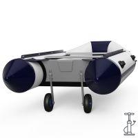 Rodas de lançamento, para barco, lançamento, SUPROD ET260-LU, Aço inoxidável