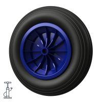 1 x Pneumatisk hjul Ø 370 mm 3.50-8 glideleje,...