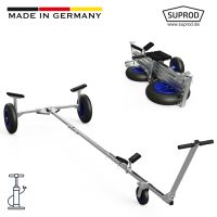 Foldable Launching Trolley with PNEUMATIC WHEELS, Hand...