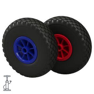 Pneumatisk hjul Ø 260 mm 3.00-4 glideleje