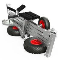 Slipwagen mit LUFTREIFEN, Bootswagen, Handtrailer, faltbar, SUPROD TR260-LU
