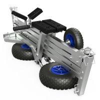Handtrailer, Rubberboot Trailer, Trolley, voor motor-, rubber-, roei- en kleine zeilboten, SUPROD TR260-LU