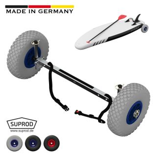 Roues de transport pour SUP, Stand Up Paddle Board, Chariot Wheels, SUPROD UP260, Acier inoxydable