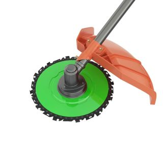 Chain cutting head, mower adaptor, for lawn trimmer, motor scythe