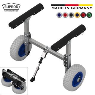 Kayak trolley, Canoe cart, SUP-trolley, SUPROD KW200, aluminum