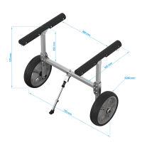 Kano trolley, SUP wagen, SUPROD KW261, aluminium