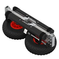 Carrinho para canoa com rodas PNEUMÁTICAS, Carrinho de SUP, SUPROD KW260-LU, alumínio