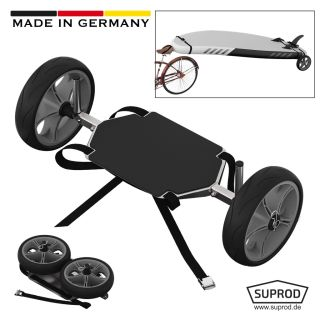 Roues de transport pour SUP, Stand Up Paddle Board, Chariot, Wheels, SUPROD UP261, Acier inoxydable