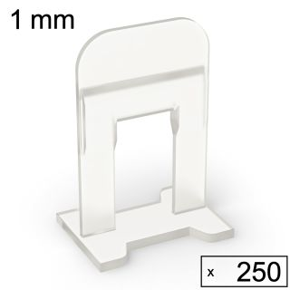 250 Clips (1 mm)