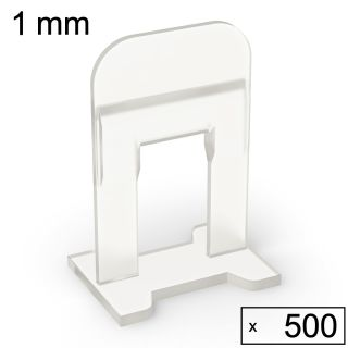500 Clips (1 mm)
