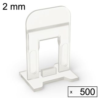 500 Clips (2 mm)