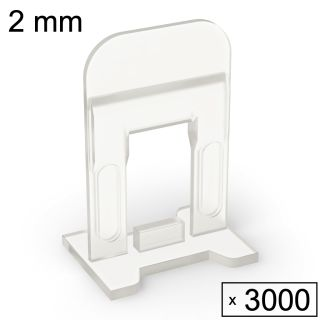 3000 Clips (2 mm)