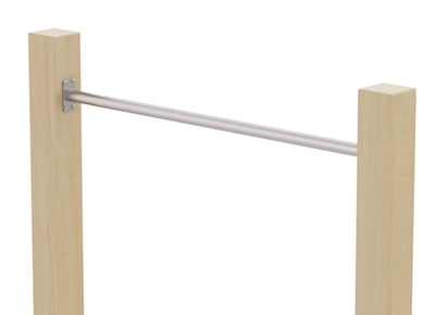 Pull-up Bar, Chinning Bar, Horisontell bar, KÖNIGSPROD, rostfritt stål, 90 - 150 cm 1